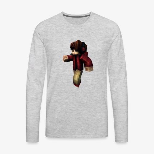 Rendered - Men's Premium Long Sleeve T-Shirt