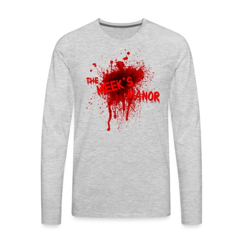 The Meek's Manor Haunted House - Men's Premium Long Sleeve T-Shirt