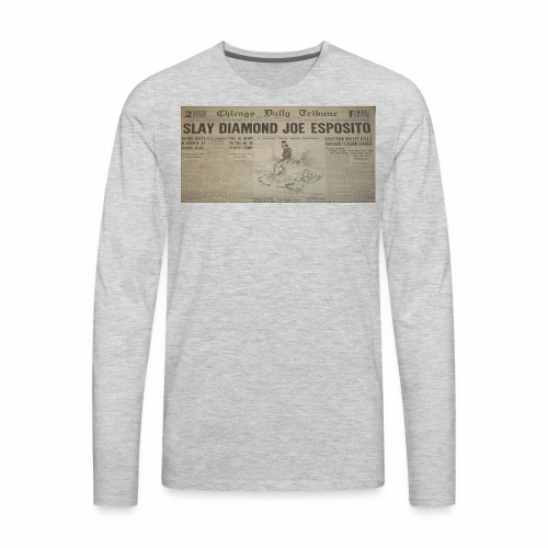 ESPOSITO SLAYED DEADLINE - Men's Premium Long Sleeve T-Shirt