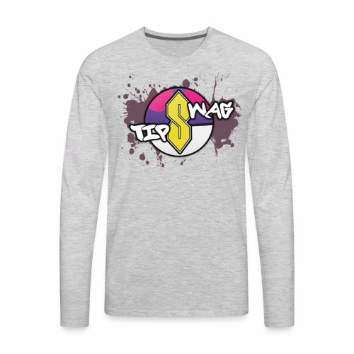 Swag Tips - Men's Premium Long Sleeve T-Shirt