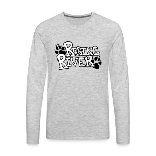 Raging River - Men's Premium Long Sleeve T-Shirt
