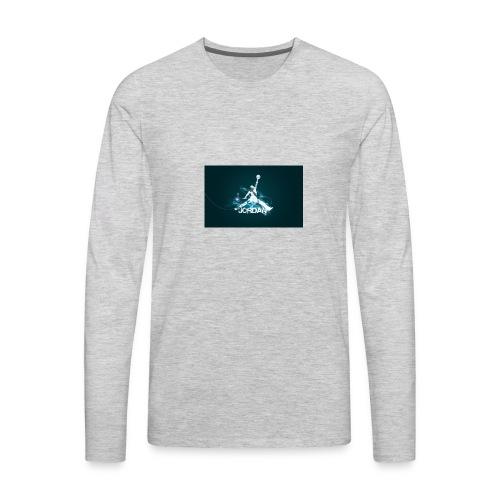 new jordantubeplayzlogo - Men's Premium Long Sleeve T-Shirt