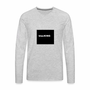 blacKING - Men's Premium Long Sleeve T-Shirt