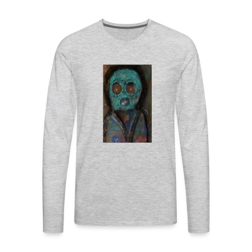 The galactic space monkey - Men's Premium Long Sleeve T-Shirt