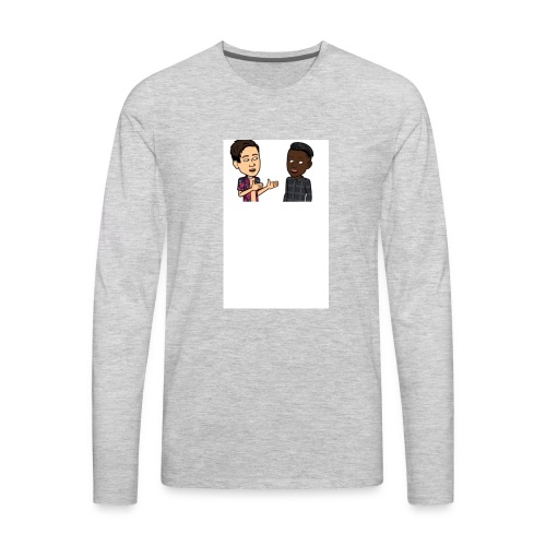 Brothers till the end - Men's Premium Long Sleeve T-Shirt
