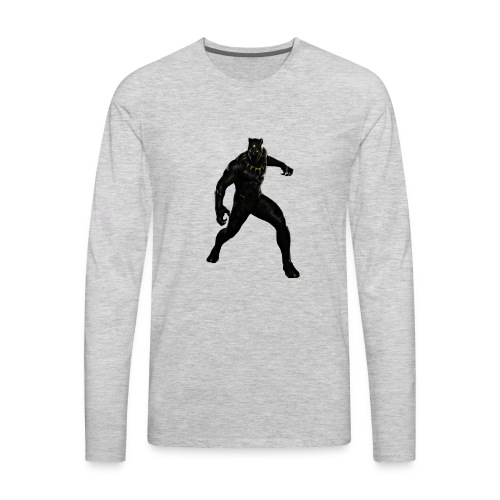 BLACK PANTHER - Men's Premium Long Sleeve T-Shirt