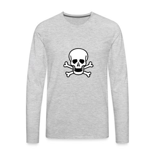 deathskull - Men's Premium Long Sleeve T-Shirt