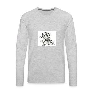 otw_final_graffiti_1 - Men's Premium Long Sleeve T-Shirt