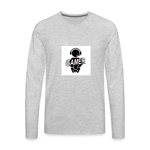 Xtreme Gamer - Men's Premium Long Sleeve T-Shirt