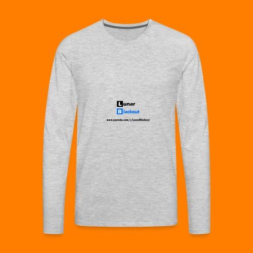 Lunar Shirt New Logo - Men's Premium Long Sleeve T-Shirt