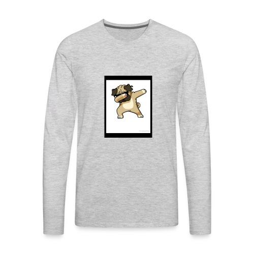 Dab Dog 2018 - Men's Premium Long Sleeve T-Shirt