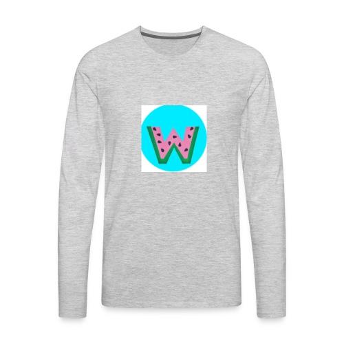 Watdria - Men's Premium Long Sleeve T-Shirt