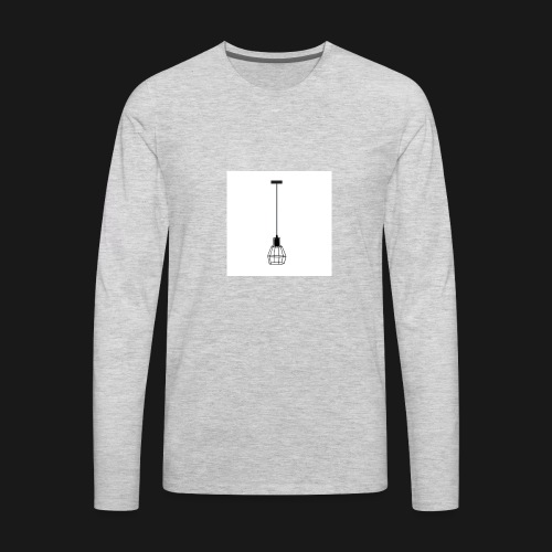 Ellume Design Pendente Meka Preto Base E 27 9183 9 - Men's Premium Long Sleeve T-Shirt