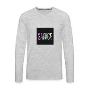 Savage Wear - Men's Premium Long Sleeve T-Shirt
