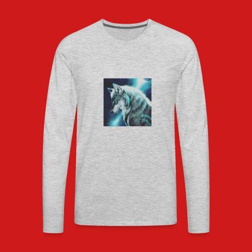 Wolfboy776 Logo - Men's Premium Long Sleeve T-Shirt