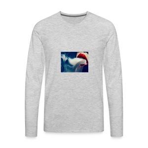 smoking woman 2 - Men's Premium Long Sleeve T-Shirt
