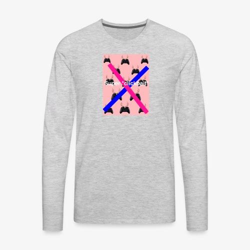 Super *clickbait* - Men's Premium Long Sleeve T-Shirt