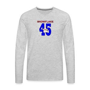 president SNOWFLAKE 45 - Men's Premium Long Sleeve T-Shirt