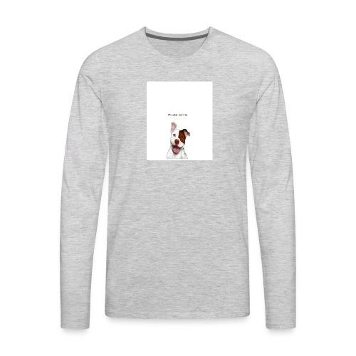 my big dog - Men's Premium Long Sleeve T-Shirt