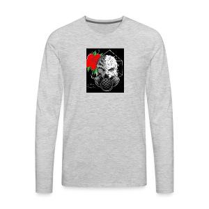 Caveira toxica - Men's Premium Long Sleeve T-Shirt