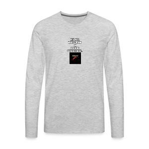 Hey Guys, (SLOGAN MERCH!) - Men's Premium Long Sleeve T-Shirt