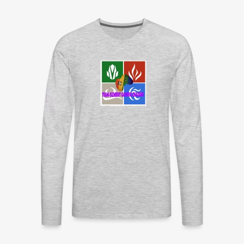 Team element gaming channel - Men's Premium Long Sleeve T-Shirt
