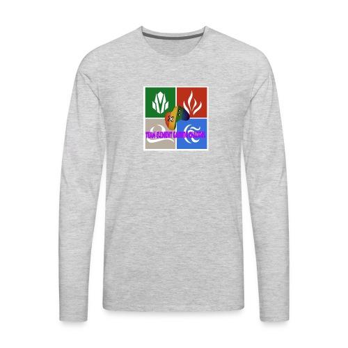 Team element gaming channel - Men's Premium Long Sleeve T-Shirt