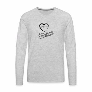 The Flow by Farjani.com - Men's Premium Long Sleeve T-Shirt