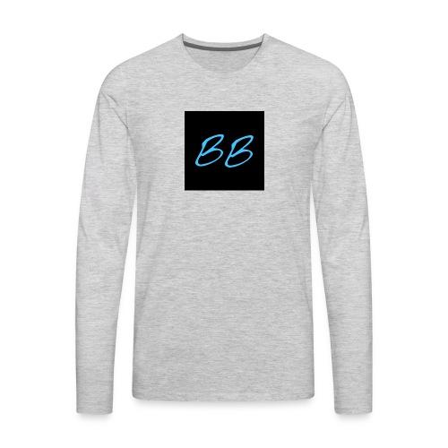 BLOKEBLAKE LOGO - Men's Premium Long Sleeve T-Shirt
