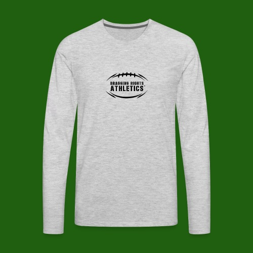 BRA Football Outline - Men's Premium Long Sleeve T-Shirt