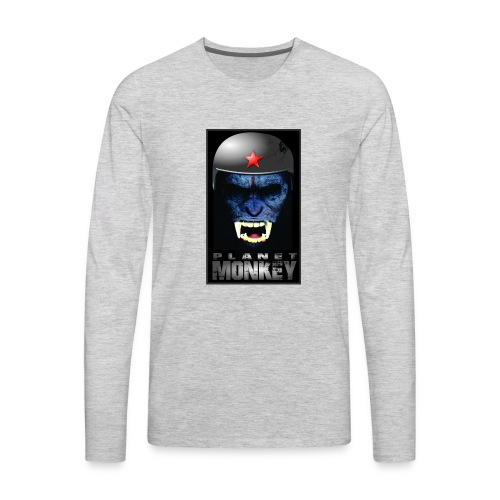 ESTAMPA PLANET MONKEY - Men's Premium Long Sleeve T-Shirt