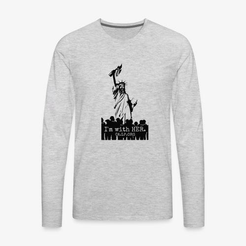 CA Liberty - Men's Premium Long Sleeve T-Shirt