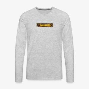 Flat Logo - Men's Premium Long Sleeve T-Shirt