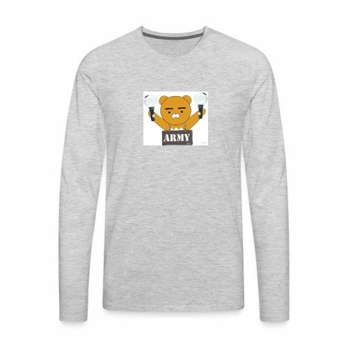 bts bear - Men's Premium Long Sleeve T-Shirt
