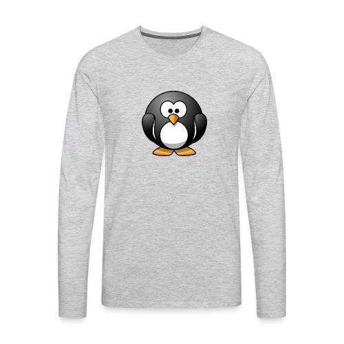 Funny Penguin T-Shirt - Men's Premium Long Sleeve T-Shirt