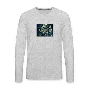 the super gaming logo 1 - Men's Premium Long Sleeve T-Shirt