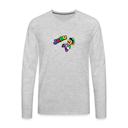 TheJabuBros Luigi Sprite Shirt - Men's Premium Long Sleeve T-Shirt