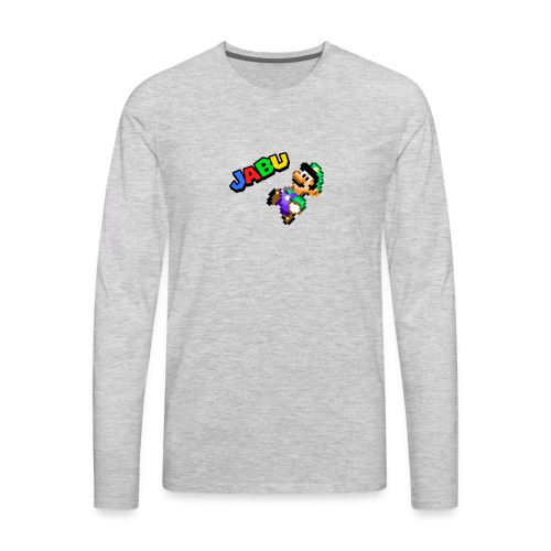 TheJabuBros Luigi Sprite Shirt - Men's Premium Long Sleeve T-Shirt