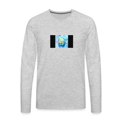 Kbkango channel logo - Men's Premium Long Sleeve T-Shirt
