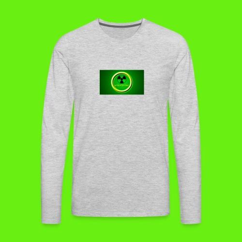 CorrosiveLick Reborn logo - Men's Premium Long Sleeve T-Shirt