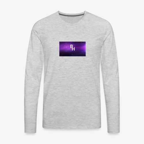 New BlazeHawk15 Logo - Men's Premium Long Sleeve T-Shirt