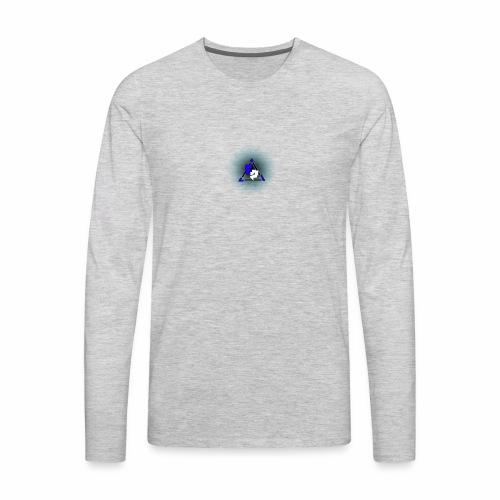 Peak logo tran - Men's Premium Long Sleeve T-Shirt