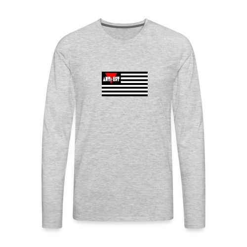 Black Flag - Men's Premium Long Sleeve T-Shirt