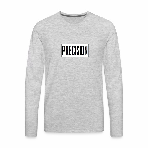 precision logo1 5 - Men's Premium Long Sleeve T-Shirt