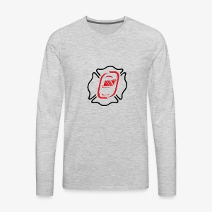 Off Duty Iron Maltese - Men's Premium Long Sleeve T-Shirt