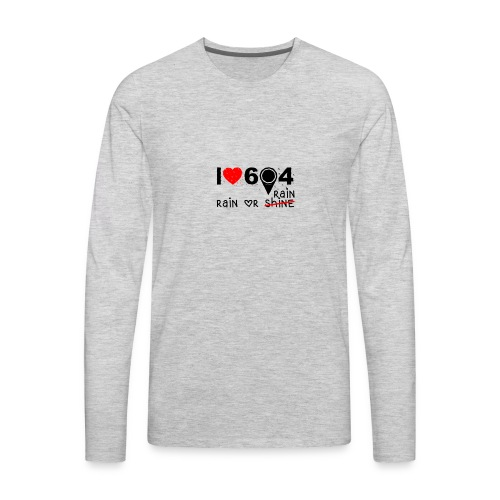 rain_or_shine - Men's Premium Long Sleeve T-Shirt