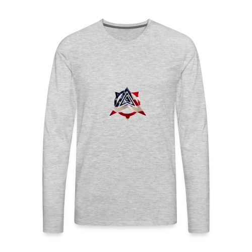 United States Flag - Men's Premium Long Sleeve T-Shirt
