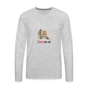 lovecat - Men's Premium Long Sleeve T-Shirt