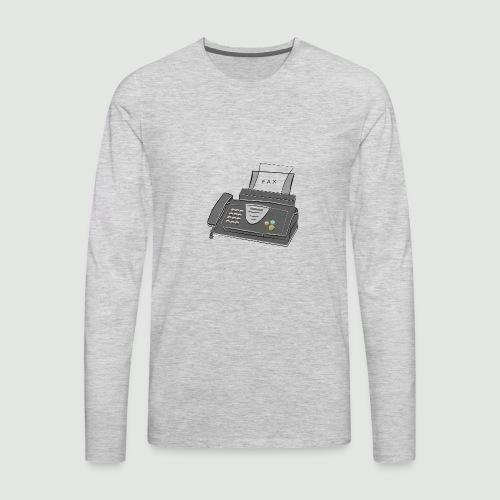 Facts.... - Men's Premium Long Sleeve T-Shirt