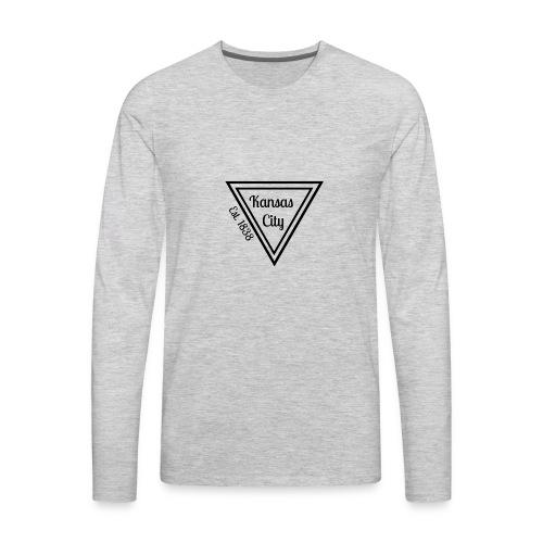 Kansas City Spirit Shirt - Men's Premium Long Sleeve T-Shirt